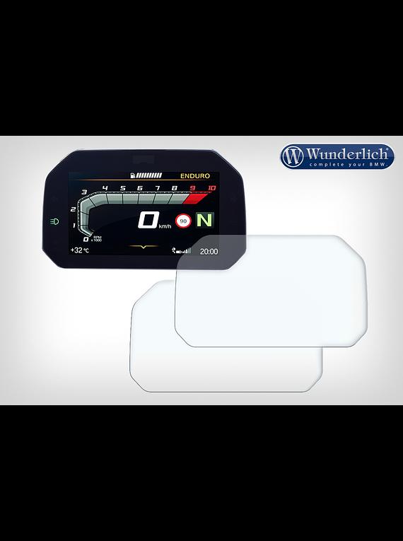 Display protection film set