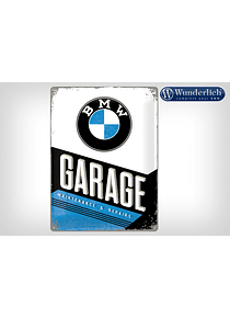 Metal sign BMW Garage 30 x 40 cm - Nostalgic Art
