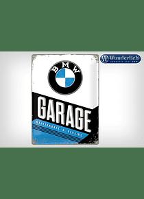 Metal sign BMW Garage 30 x 40 cm - Nostalgic Art