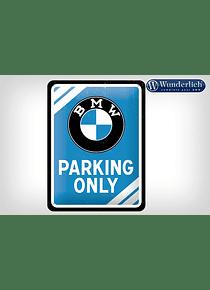 BMW Parking Only metal sign 15 x 20 cm - Nostalgic Art