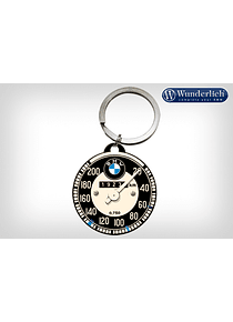BMW Speedometer key chain round - Nostalgic Art
