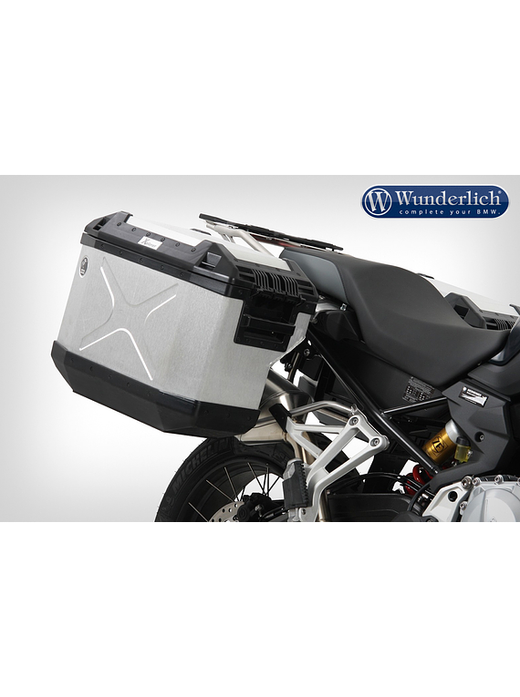 Hepco & Becker Case system cut out F 850 GS