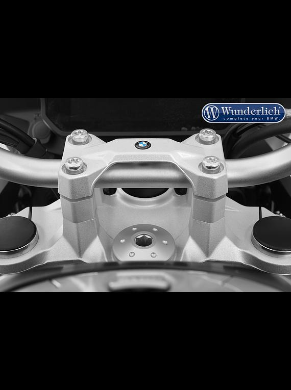 Wunderlich ERGO handlebar riser for models without a BMW sat nav