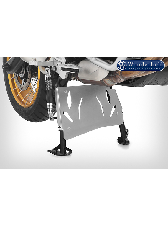 Wunderlich centre stand protection plate