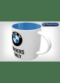 BMW Drivers Only tin - Nostalgic Art