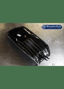 Bench base shell glass-fiber reinforced plastic