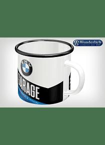 Enamel cup GARAGE from Nostalgic Art