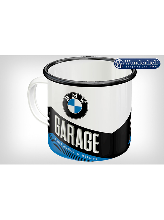 Enamel cup GARAGE from Nostalgic Art