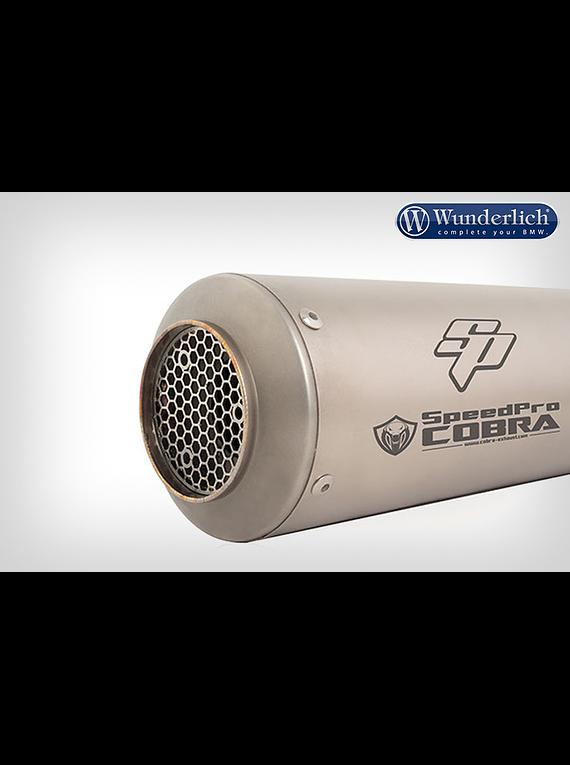 SPEEDPRO COBRA End muffler SP1 (Euro 3)