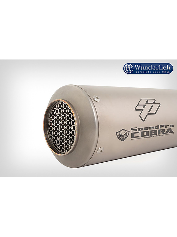 SPEEDPRO COBRA End muffler SP1 (Euro 4)