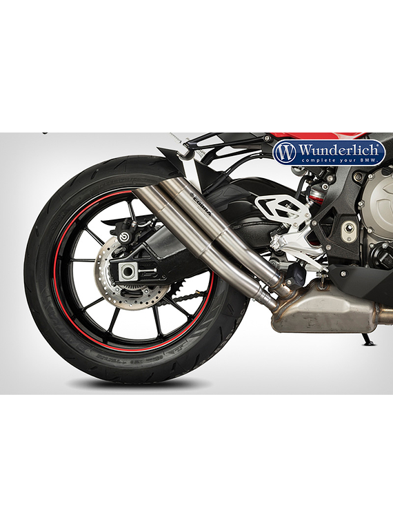 SPEEDPRO COBRA End muffler Hypershots Ultrashort