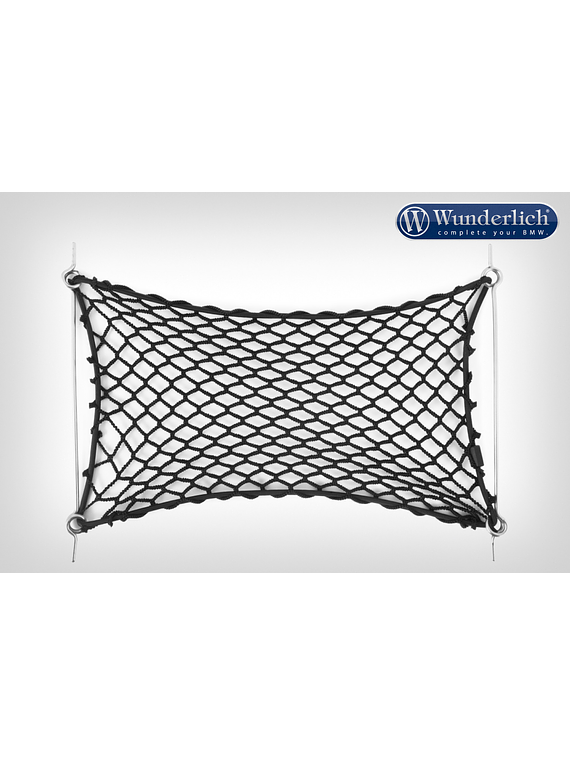 Wunderlich luggage net for aluminium Topcase