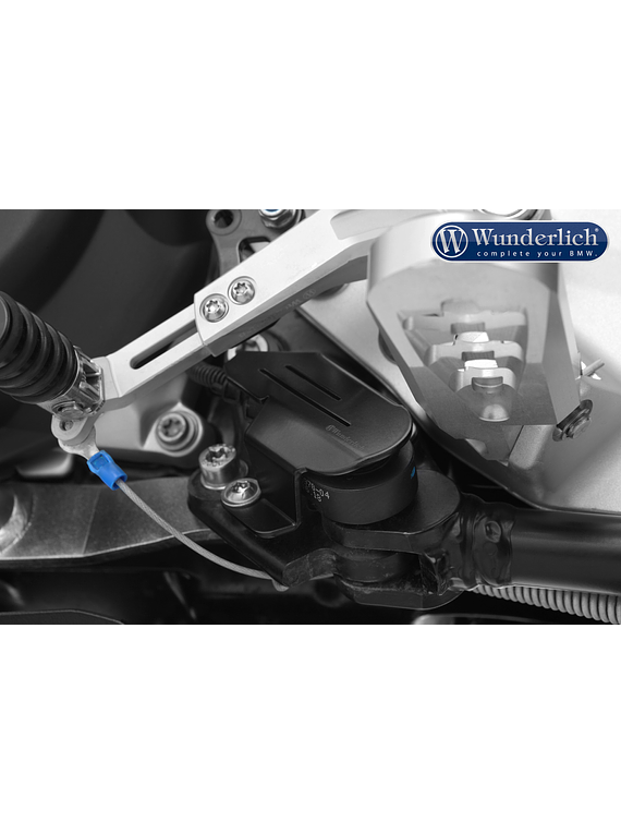 Wunderlich protective cover for the ignition interruption switch on th