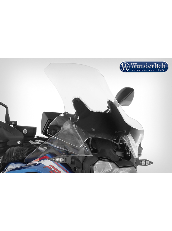 Wunderlich MARATHON windshield for the BMW F 850 GS Adventure