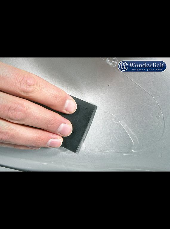 Pannier protection foil Venture Shield with chrome trim