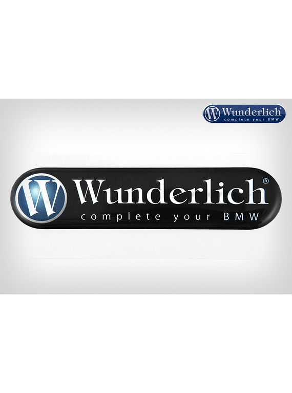 Wunderlich emblem Logo 90mm x 21mm