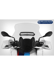 Windshield MARATHON AIRVENTED with adjustable ventilation
