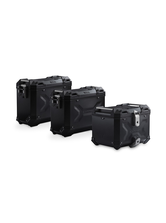 Adventure set luggage Black. Honda CRF1000L Africa Twin (15-17).