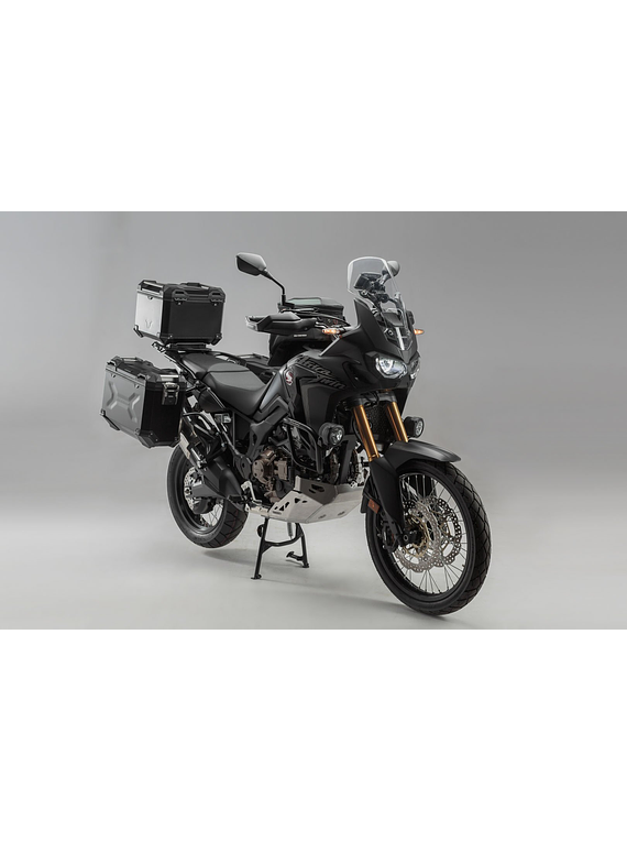 Adventure set luggage Silver. Honda CRF1000L Africa Twin (15-17).