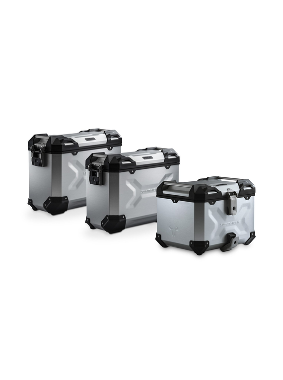 Adventure set Luggage Silver. KTM 1050/1090/1190Adv, 1290SAdv/R/S/T.