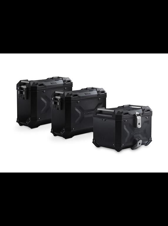 Adventure set Luggage Black. Kawasaki Versys 650 (15-).