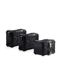 Adventure set Luggage Black. Kawasaki Versys 650 (07-09).
