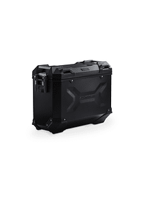 TRAX ADV M Side case. Aluminum. 37 l. Left. Black.