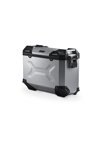 TRAX ADV M Side case. Aluminum. 37 l. Right. Silver.