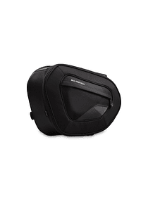 BLAZE saddlebags high version 1680D Ballistic Nylon. Black/Grey. In pairs.