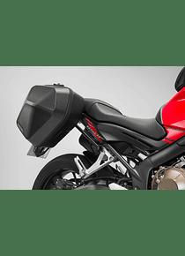 URBAN ABS side case system 2x 16,5 l. Honda CB650F (14-) / CBR650F (16-).