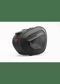 BLAZE saddlebag set Black/Grey. Honda VFR800F (14-).