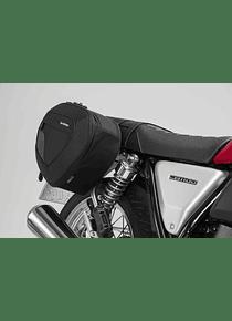 BLAZE H saddlebag set Black/Grey. Honda CB1100 EX (16-).