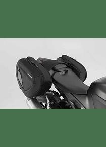BLAZE H saddlebag set Black/Grey. Honda CBR1000RR Fireblade (17-).