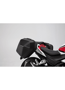 URBAN ABS side case system 2x 16,5 l. Honda CB500F (16-18) / CBR500R (16-18).