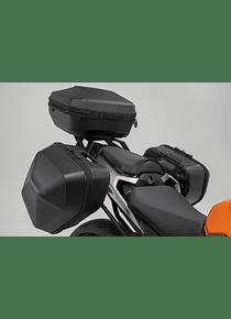 URBAN ABS side case system 2x 16,5 l. Honda CB500F (18-), CBR500R (18-).