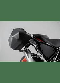 URBAN ABS side case system 2x 16,5 l. KTM 690 Duke (16-17).