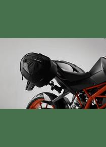 BLAZE H saddlebag set Black/Grey. KTM Duke 125/390 (-16), 200 (11-).