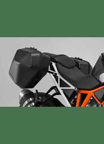 URBAN ABS side case system 2x 16,5 l. KTM 1290 Super Duke R (16-).