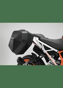 URBAN ABS side case system 2x 16,5 l. KTM 125 / 390 Duke (17-).