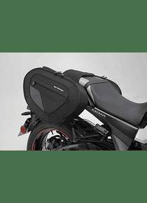 BLAZE H saddlebag set Black/Grey. Suzuki GSX-S 1000 S Katana (19-).
