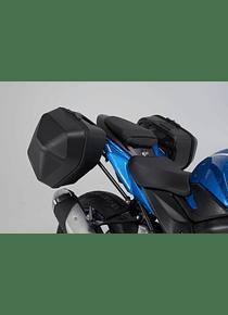 URBAN ABS side case system 2x 16,5 l. Suzuki GSX-S 750 (16-).