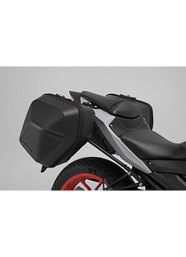 URBAN ABS side case system 2x 16,5 l. Yamaha MT-03 (16-).