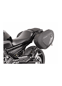 BLAZE saddlebag set Black/Grey.Yamaha XJ6/ XJ6 Diversion, Diversion F.