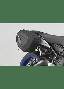 BLAZE saddlebag set Black/Grey. Yamaha MT-09 (13-16).