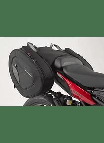 BLAZE saddlebag set Black/Grey. Yamaha MT-09 Tracer (14-18).