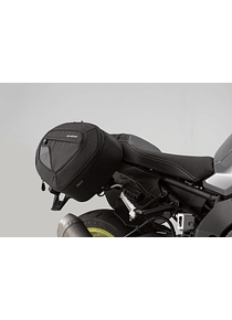 BLAZE H saddlebag set Black/Grey. Yamaha MT-10 (16-).