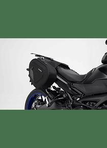 BLAZE H saddlebag set Black/Grey. MT-09 Tracer/ Tracer 900GT (17-).