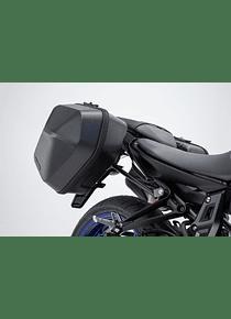 URBAN ABS side case system 2x 16,5 l. Yamaha MT-07 (18-).