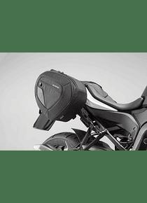 BLAZE H saddlebag set Black/Grey. BMW S 1000 XR (15-).