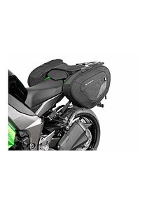 BLAZE H saddlebag set Black/Grey. Kawasaki Z1000 SX (11-).